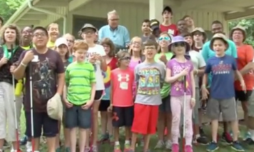KCTV5 Visits Alphapointe Adventure Camp