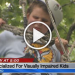 Parkville camp specialized for kids who are visually impaired