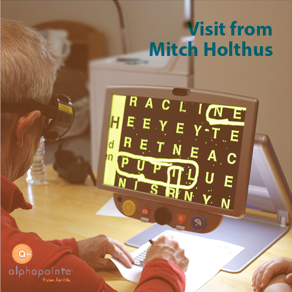 Mitch Holthus Visit