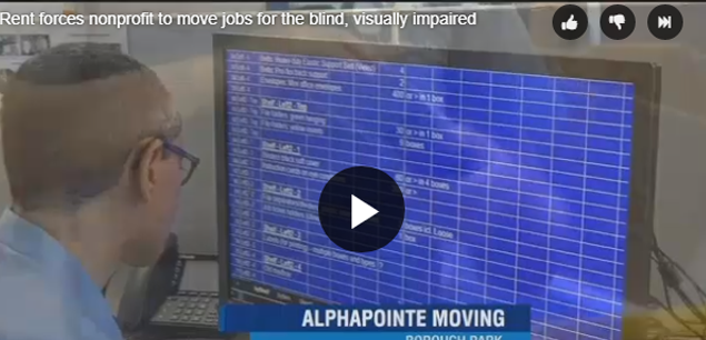 Alphapointe will move its jobs to Queens