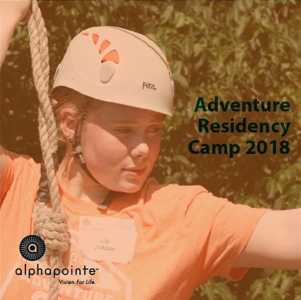 Adventure Residency Camp 2018