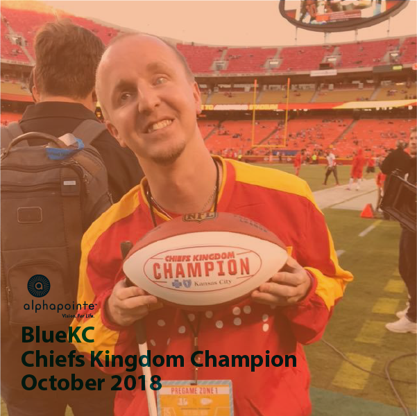 BlueKC Chiefs Kingdom Champion October 2018