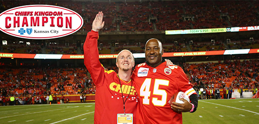 Blue KC Chiefs Kingdom Champion, Cameron Black