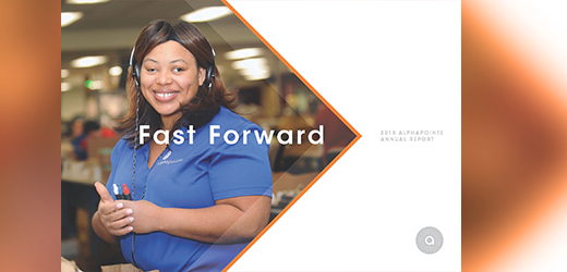 Fast Forward: 2018 Alphapointe Annual Report