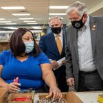 Missouri Governor Mike Parson Recognizes Alphapointe Employees for Essential Service During Pandemic