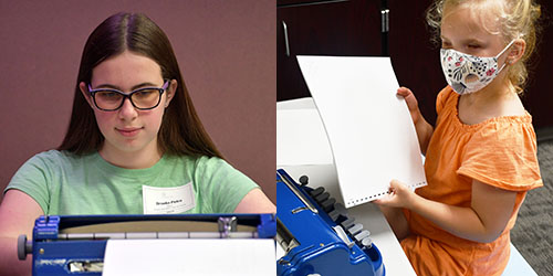 Kansas City Area Students Named Braille Challenge National Champion & 3rd Place Finisher
